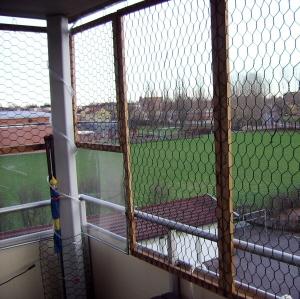 Katt stängsel balkong