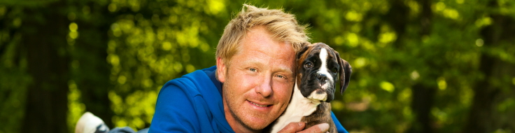 Fredrik Steen, hundcoach och Agriaprofil.