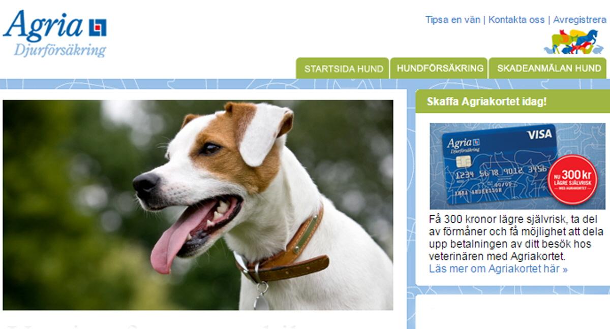 Agria hundförsäkring självrisk